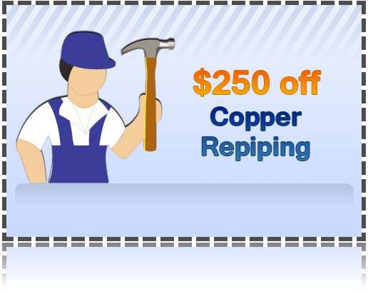 Discount Coupon for Plumbing Services